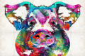 Colorful-pig-art-squeal-appeal-by-sharon-cummings-sharon-cummings